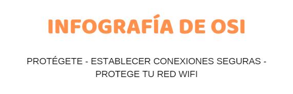 Infografía de ciberseguridad: «Protege tu red wifi»
