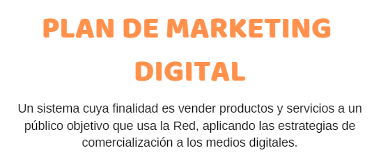 Infografía «Plan de Marketing Digital»